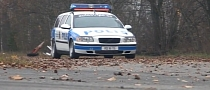 There's No Escaping the V8-Powered Volvette V70 Cop Car [Video]