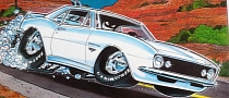 These American Muscle and Hot Rod Cartoons Go Deep [Photo Gallery]