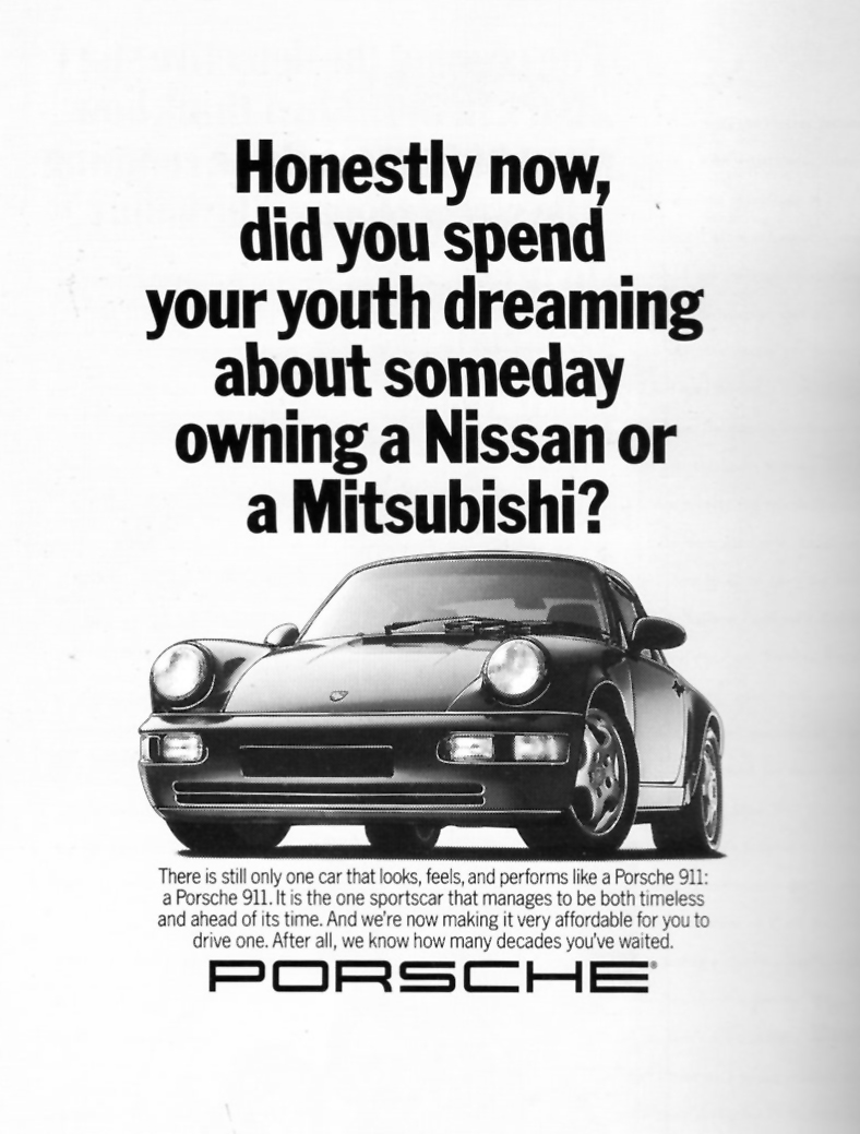 these are the best porsche print ads ever autoevolution. Black Bedroom Furniture Sets. Home Design Ideas