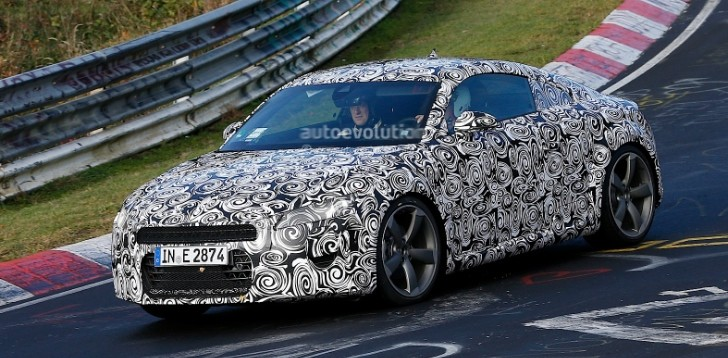 Third Generation Audi TT Testing at Nurburgring [Photo Gallery]
