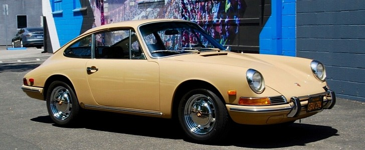 This 1968 Porsche 912 Is a Matching Numbers Coupe with a Full History