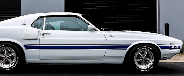This 1969 Ford Mustang Shelby GT500 Is One of Just Ten - autoevolution