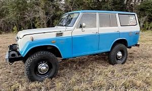 This 1974 Toyota Land Cruiser FJ55 With 2UZ-FE V8 Swap Looks Ready for Adventure