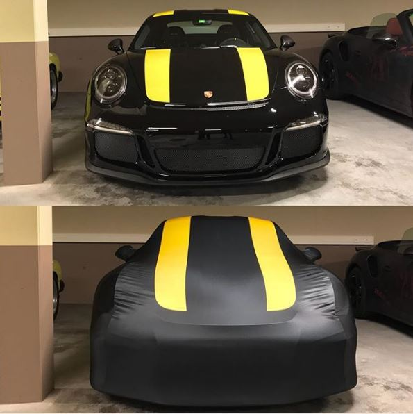 this 2017 porsche 911 r car cover is the best autoevolution. Black Bedroom Furniture Sets. Home Design Ideas