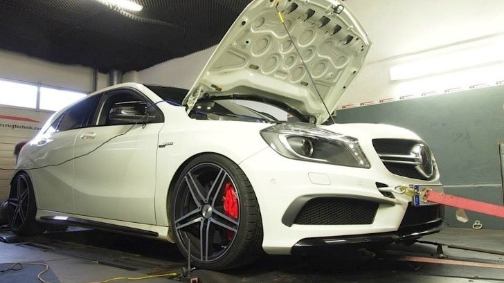This 435 hp A 45 AMG by Rebellion Automotive is an All-Weather Monster [Photo Gallery]