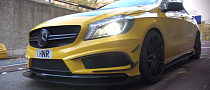 This A 45 AMG Doesn't Like Speedbumps [Video]