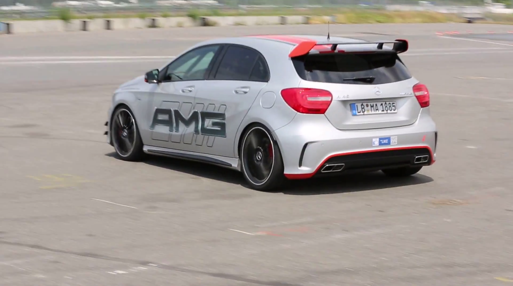 this a 45 amg sounds like a wrc car autoevolution. Black Bedroom Furniture Sets. Home Design Ideas
