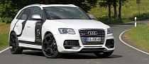 This Audi SQ5 3.0 TDI Makes 400 HP [Photo Gallery]