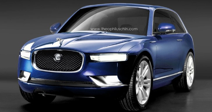 This Baby Jag Rendering Is So Wrong… but Cute
