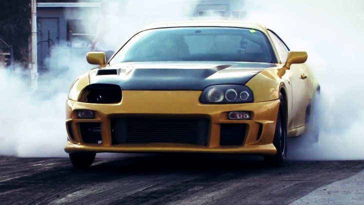 This Black And Yellow Supra Will Trample On Bumblebee Autoevolution
