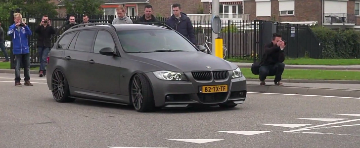 The Turbo Engineers >> This BMW E91 3 Series Claims to Put Down 813 HP Thanks to Huge Turbo - autoevolution