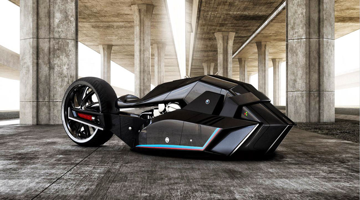 This Bmw Titan Concept Bike Must Become Reality Autoevolution