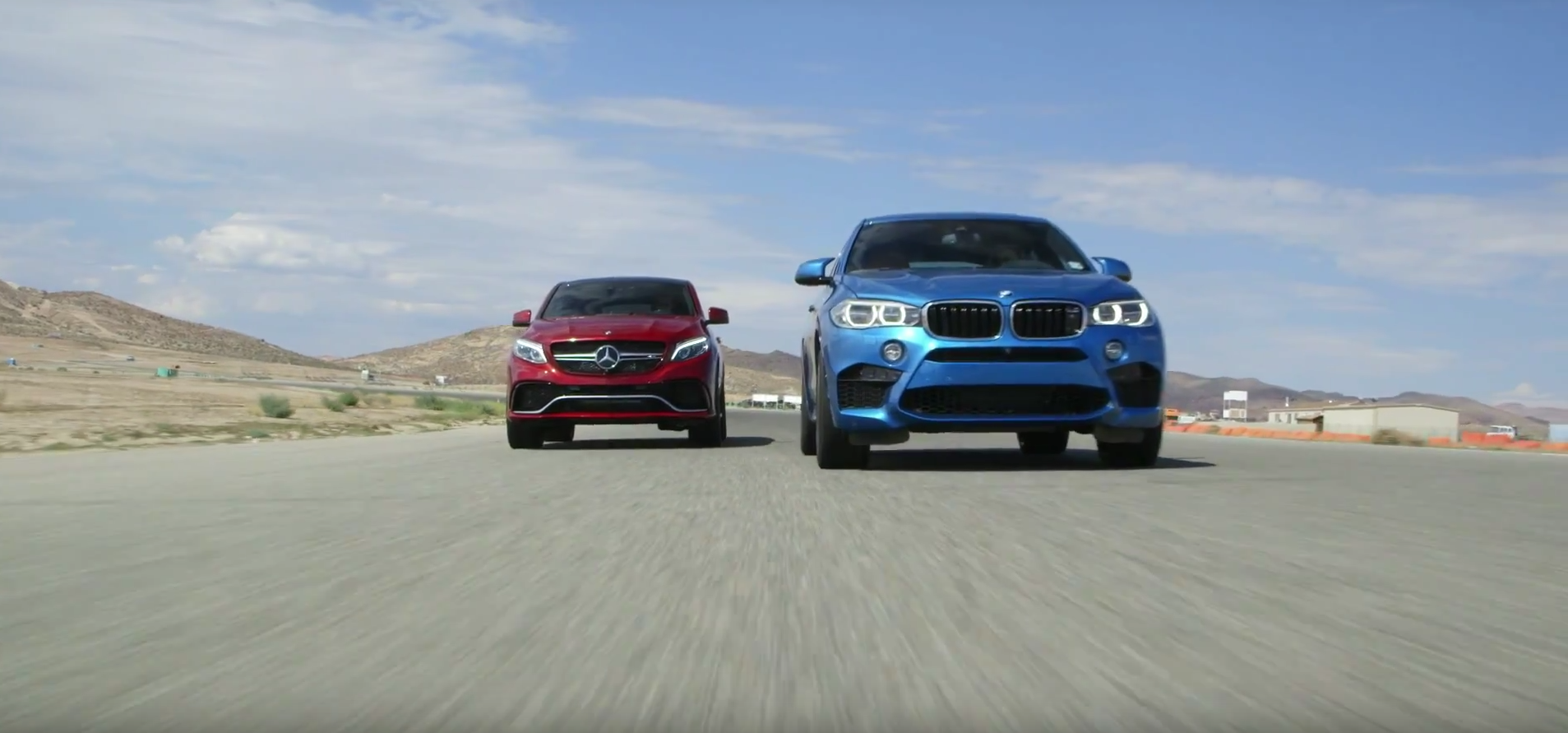 This Bmw X6 M Versus Mercedes Amg Gle63 S Coupe Comparison Is Just