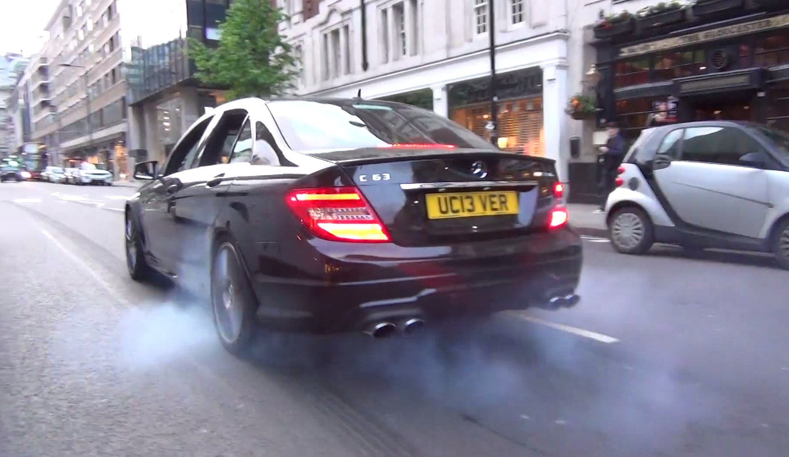 This C 63 Amg Exhaust Is Louder Than A Police Siren Autoevolution 21 Photos