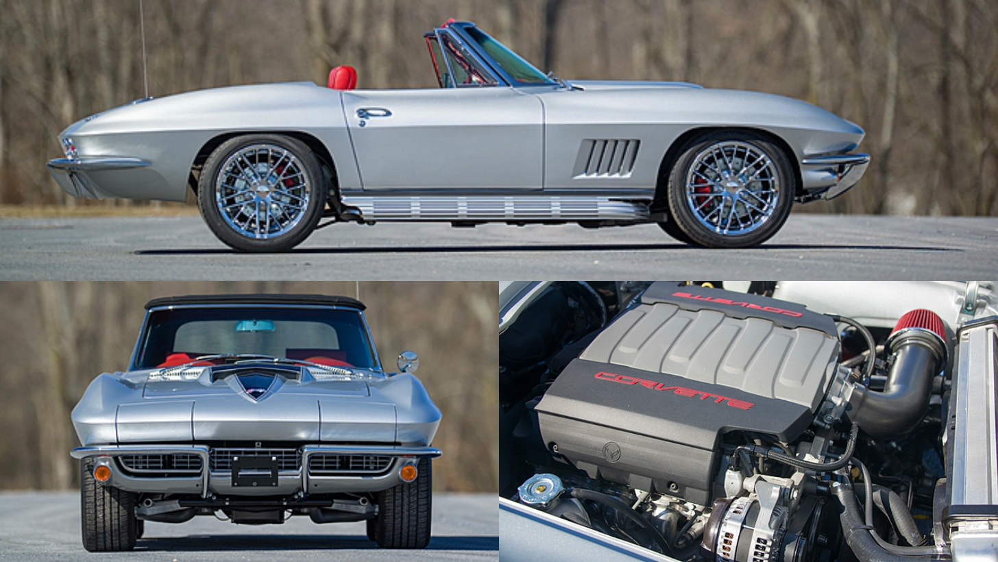 This C2 Corvette Is Powered By A 460 Hp Lt1 V8 From The C7 Corvette Stingray Photo Gallery