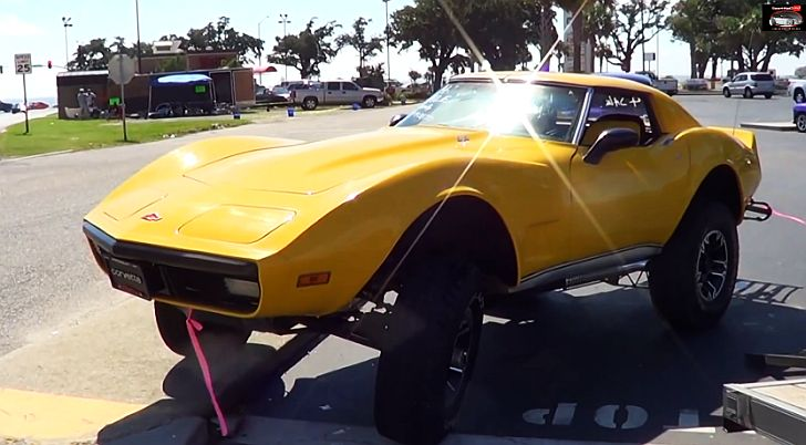 This Corvette C3 Is Ready To Go Off Roading Autoevolution