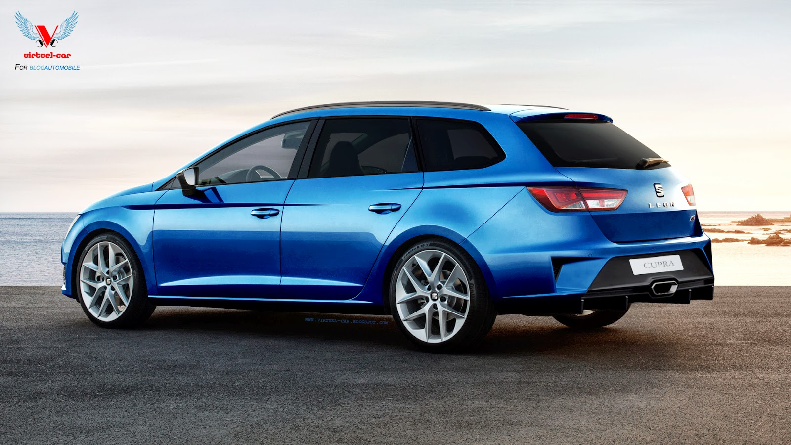 this crazy seat leon st cupra has a large diffuser. Black Bedroom Furniture Sets. Home Design Ideas
