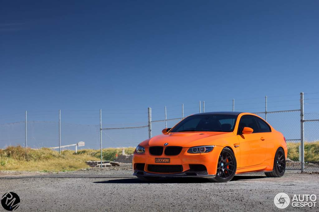 This Custom Bmw E92 M3 Is The Automotive Equivalent Of A Clockwork Orange Autoevolution