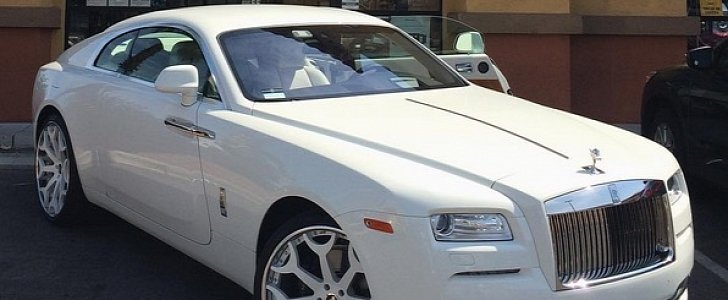 This Customized Rolls Royce Wraith Belongs To A Rer Named Philthy Rich Autoevolution
