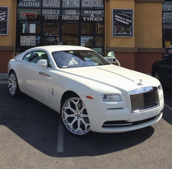 This Customized Rolls Royce Wraith Belongs To A Rapper