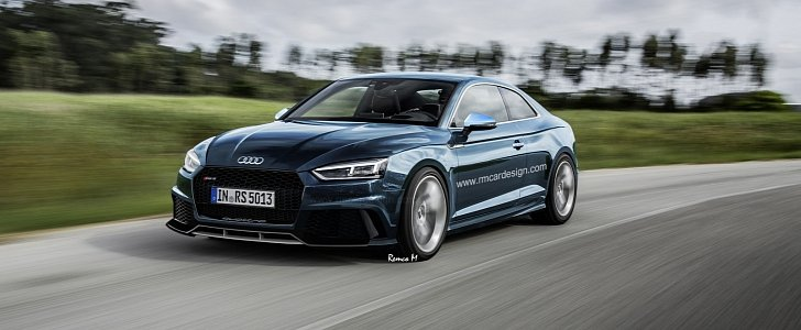 Once Driven Reviews >> This Discreet Audi RS5 Coupe Rendering Looks Really Good - autoevolution