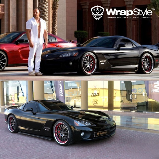 This Dodge Viper And This Charger SRT8 Will Star In Fast