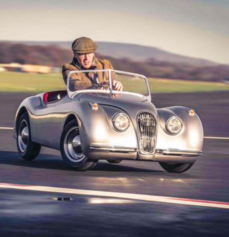 Jaguar Xk120 Coupe: This Drivable Jaguar XK120 1:5 Scale Replica Is Not For