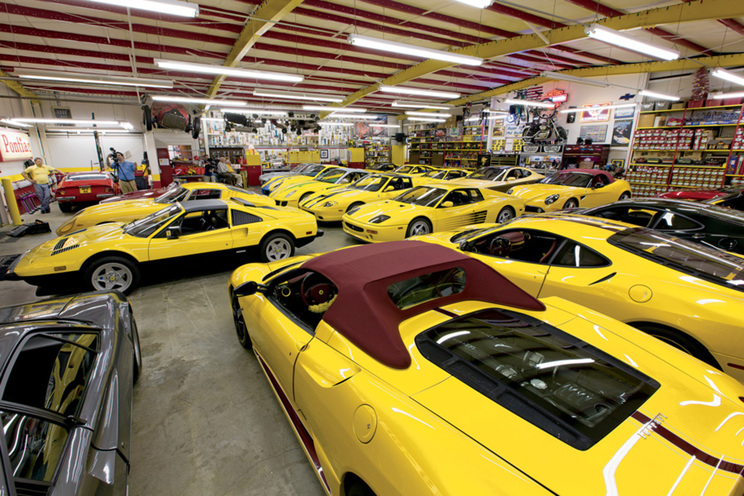 Great This Ferrari Collector Owns Over 40 Units And Theyu0027re All Yellow Pictures