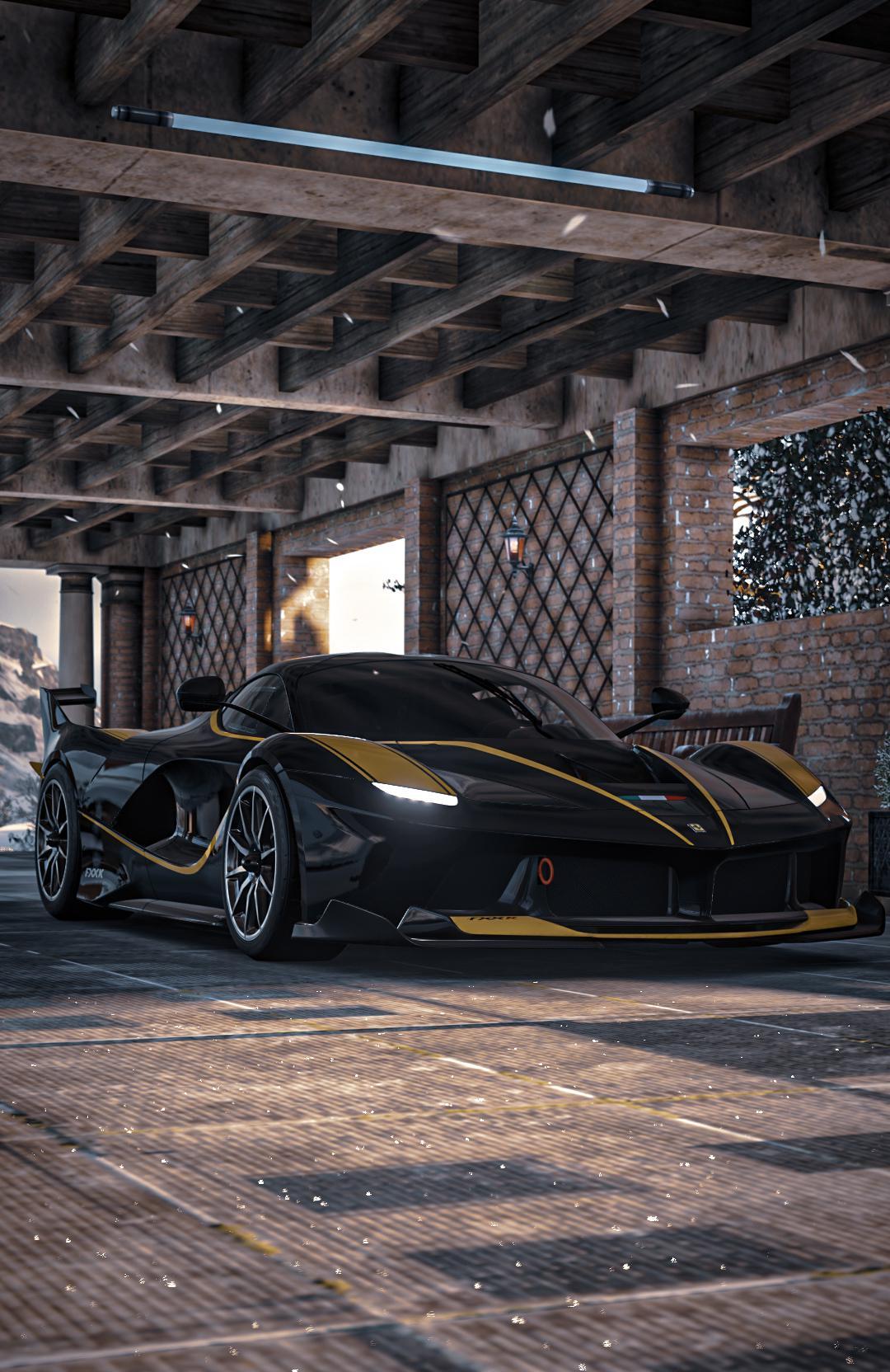 This Ferrari Fxx K Is Generation Z S Own Batmobile Autoevolution