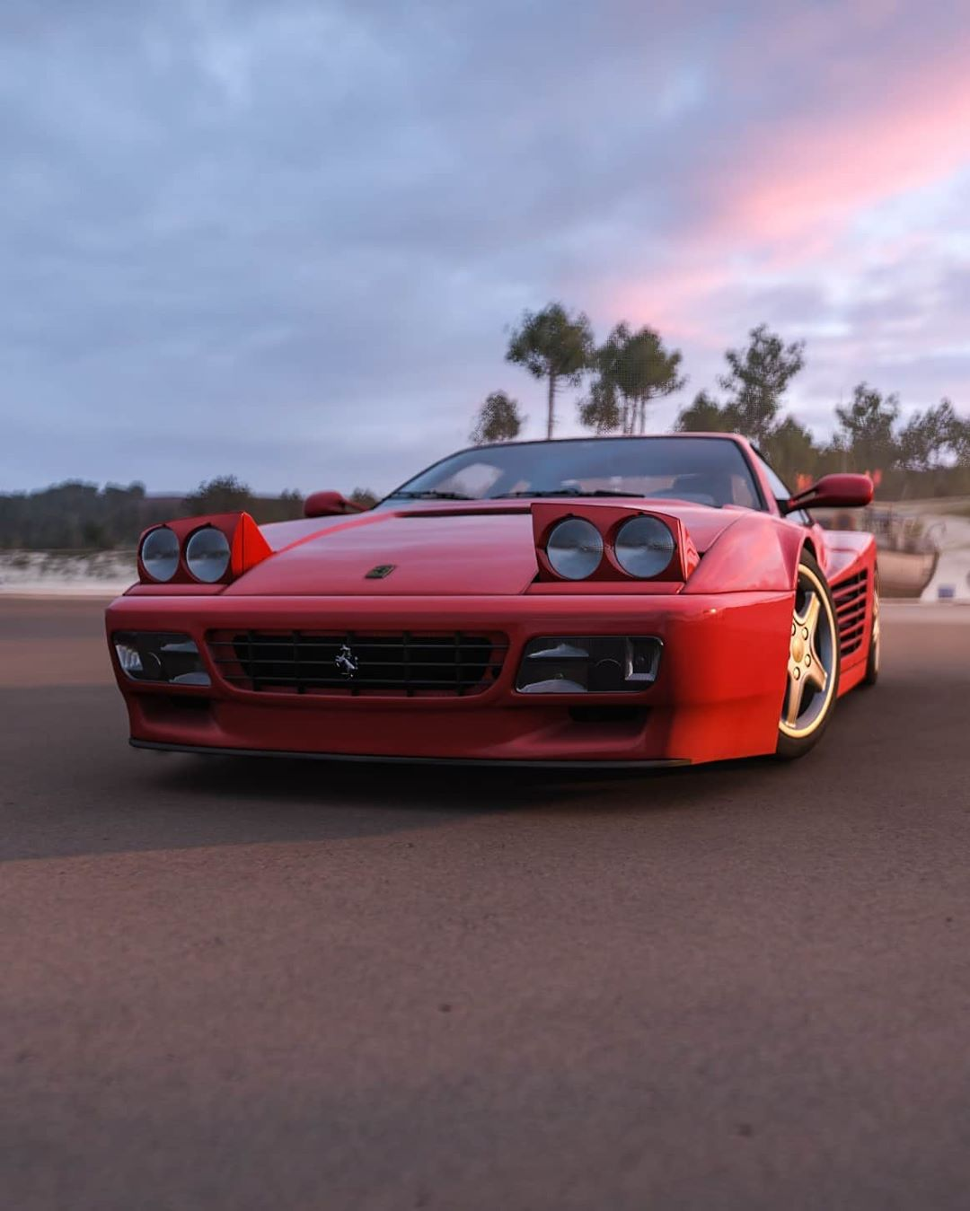 This Ferrari Testarossa Reminds Us How Awesome Gaming Can Be Autoevolution