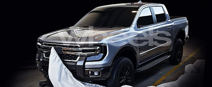 This Futuristic Pickup Truck Could Be the 2021 Ford Ranger - autoevolution