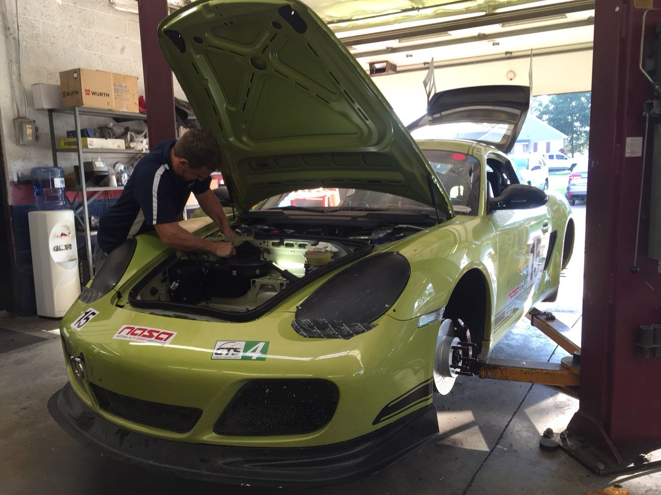 This Guy Built Sweet Brake Cooling Parts For A Porsche Cayman R Turned Track Car Autoevolution