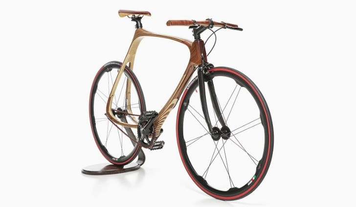 This Hand Made Bicycle Is Of Both Carbon Fiber And Wood Autoevolution