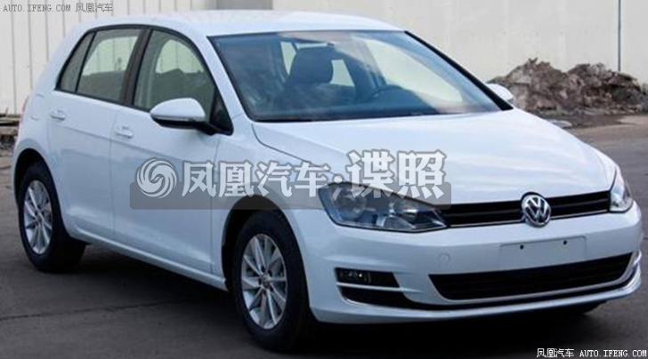 This Is a Chinese-Built Volkswagen Golf 7