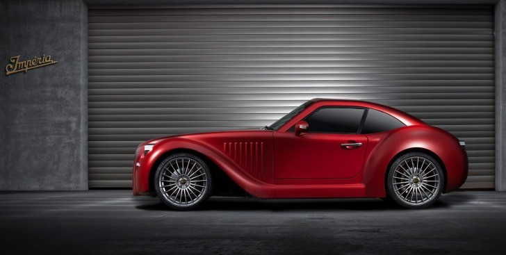 This is Belgium's Imperia GT Retro Hybrid Sportscar [Photo Gallery]