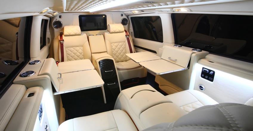 Mercedes viano custom interior for Interior mercedes viano
