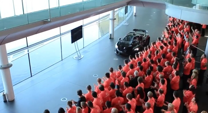 This Is How McLaren Throws a Birthday Party [Video]
