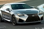 This is How the 2015 Lexus RC F Coupe Might Look