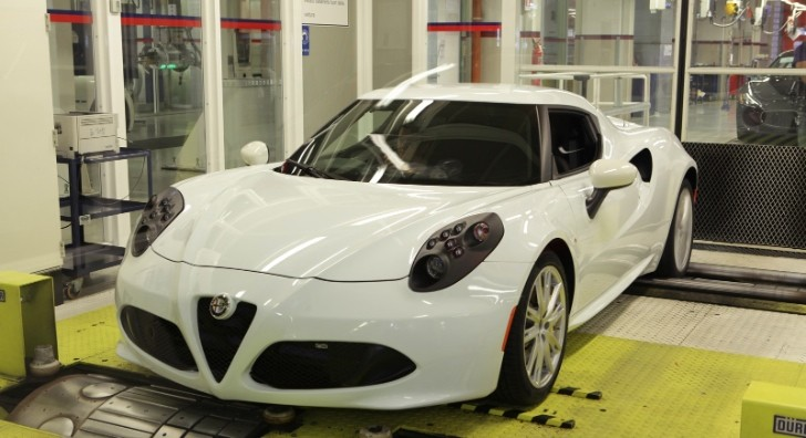 This Is How the Carbon Fiber Alfa Romeo 4C Is Made [Video] [Photo Gallery]