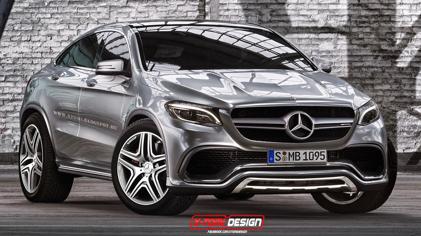 This is how the mercedes benz mlc 63 amg might look for Benz mercedes suv