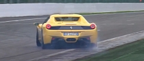 This Is How You Drift a Ferrari 458 Spider [Video]
