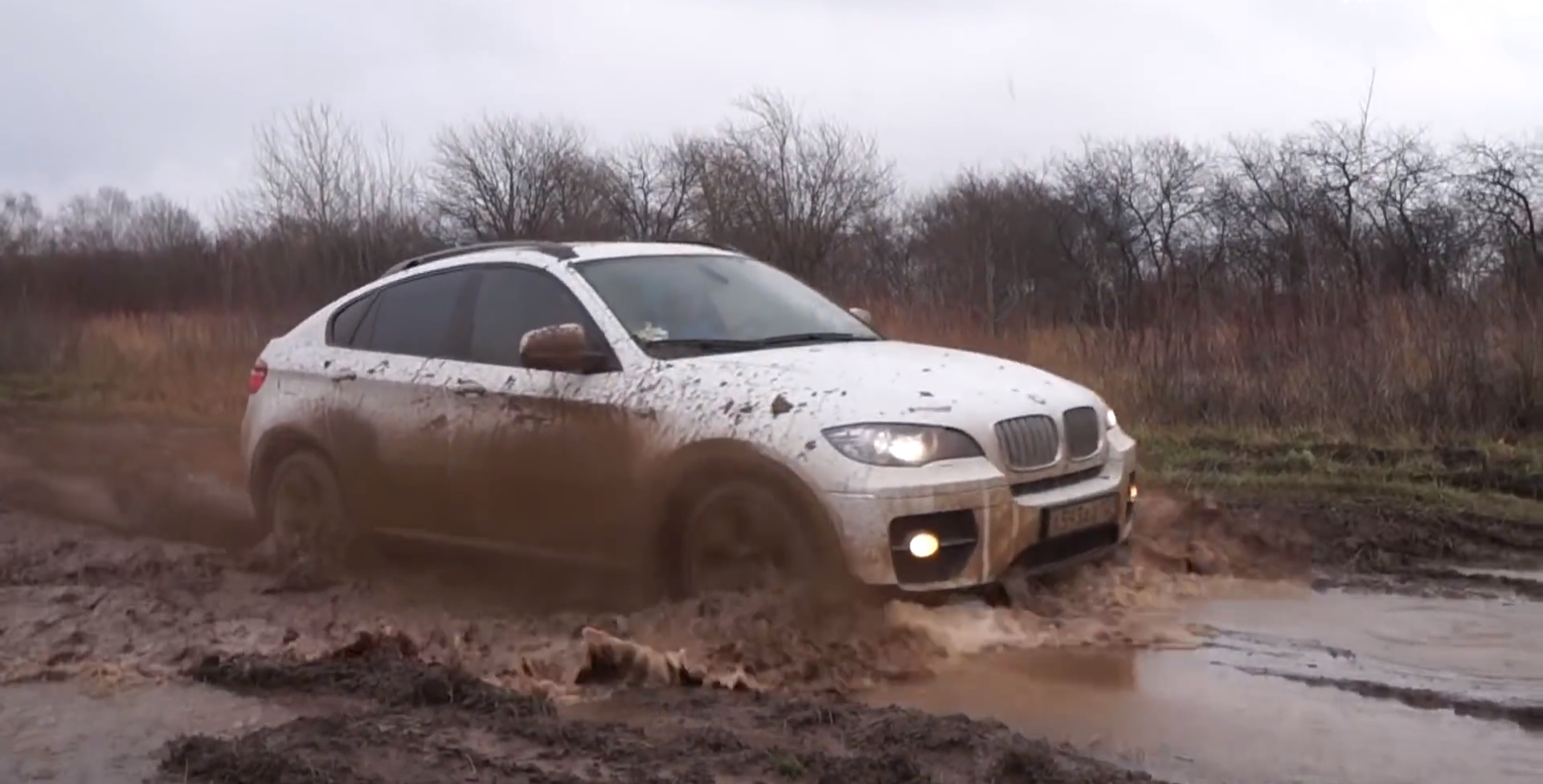 This Is How You Drive A Bmw X6 In Russia Autoevolution