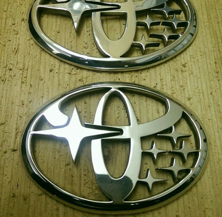This Is Literally A Toyobaru Badge And It S Freaking