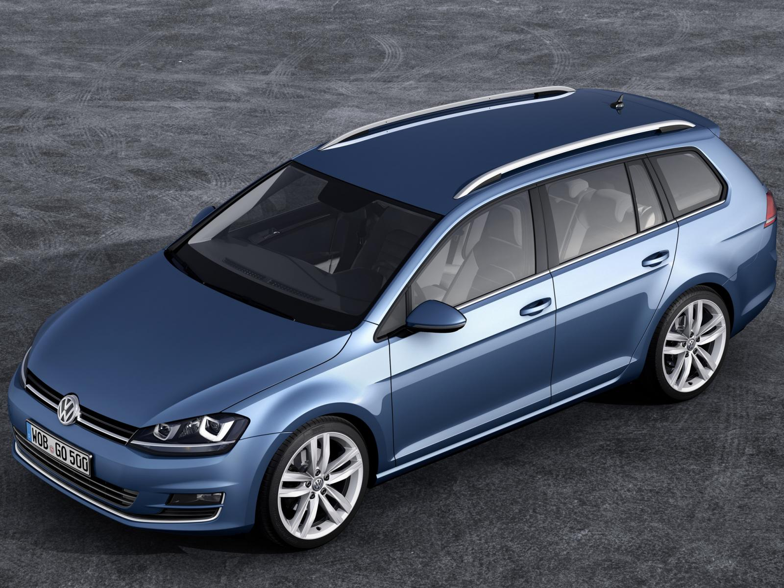 This Is The 2013 Volkswagen Golf Variant And Next Jetta