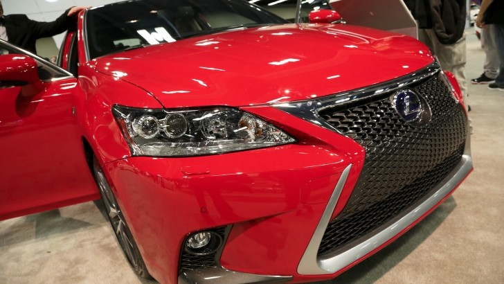 This Is the 2014 Lexus CT 200h In New Redline Finish [Photo Gallery]