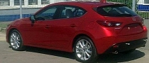 This Is the 2014 Mazda3 Hatch