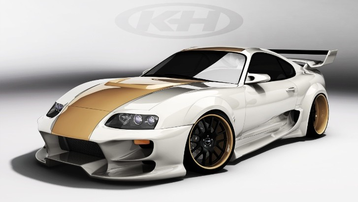 This Is the Best Looking Virtual Tuned Toyota Supra
