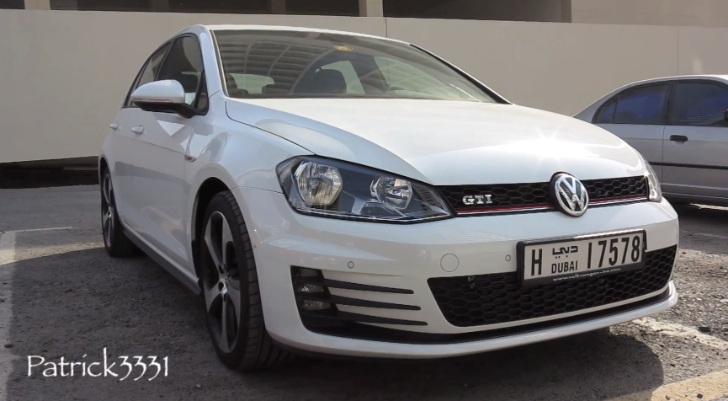 This Is the First Golf 7 GTI in Dubai [Video]