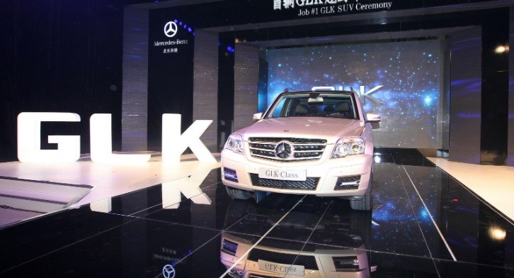 This Is the First Mercedes GLK Made in China!