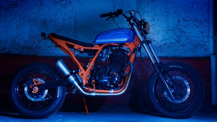 This Is The Most Brutal Suzuki DR650 Ever